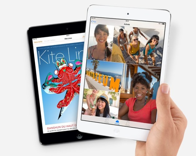Nouveau iPad mini avec écran Rétina