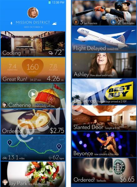 fuite nouvelle version Samsung Touchwiz