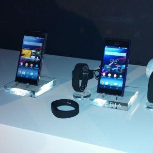 Sony Xperia Z2 avec smartwatch