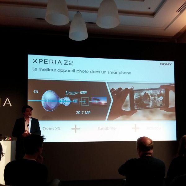 Tablette Xperia Z2