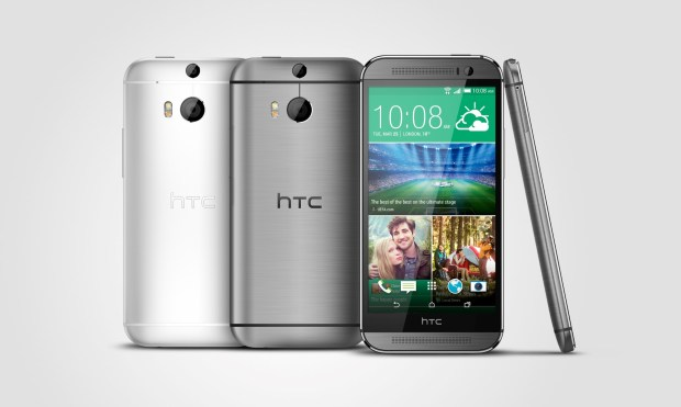 HTC One M8_Gunmetal_Silver