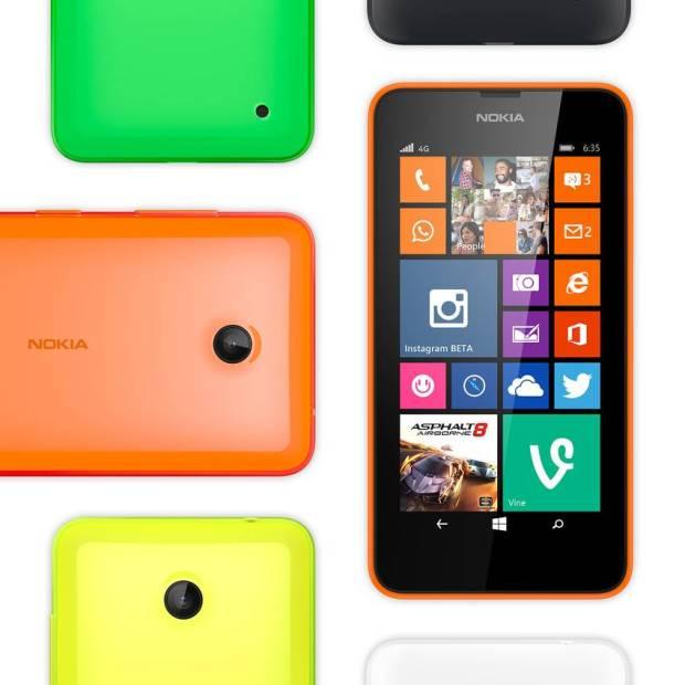 Le Lumia 635