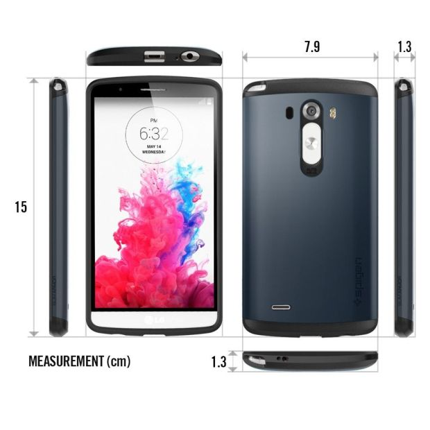dimensions du smartphone LG G3