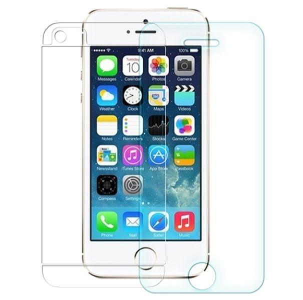 Protection en verre trempé pour iPhone 5S