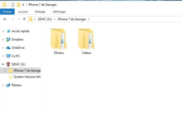 iPhone 7 de Georges