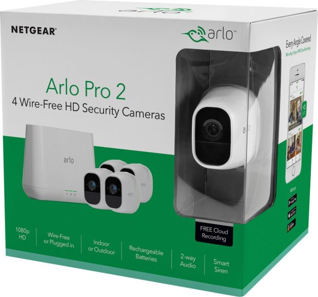 test du netgear arlo pro 2 wearemobians wearemobians. Black Bedroom Furniture Sets. Home Design Ideas