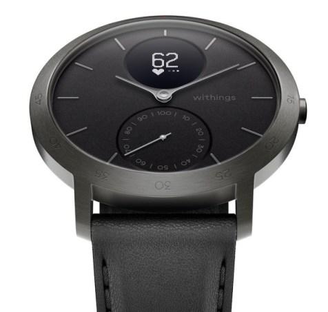 Black & Slate Grey Steel HR 40mm