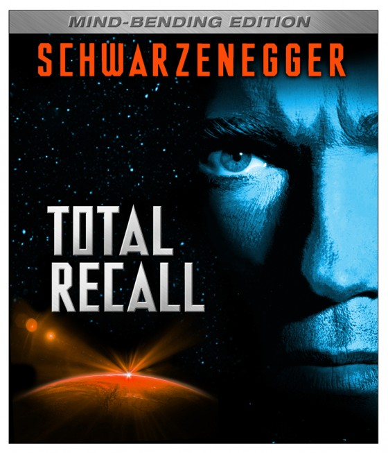 TOTAL RECALL: MIND BENDING EDITION On Blu-ray Disc July 31