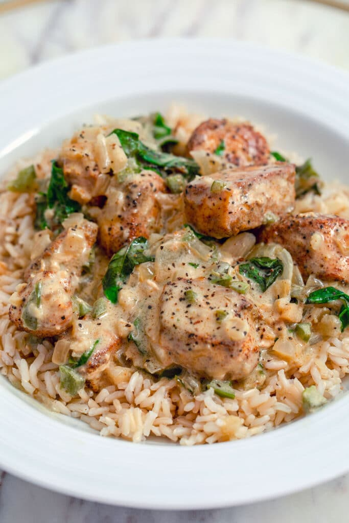 Coconut Curry Chicken and Brown Rice