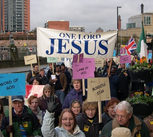 We are One - Manchester's walk of Christian witness