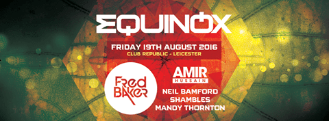 Live Mix Amir Hussain at Equinox Presents Fred Baker & Amir Hussain