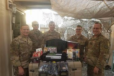 OSD Supply Drop Filled with Games and Coffee Lands on Target for Soldiers in Middle East, Troops Morale Soars