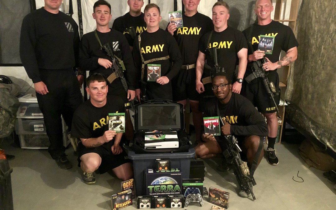 Army Infantry Soldiers from Fort Benning Get Huge MWR Upgrade in Afghanistan from OSD