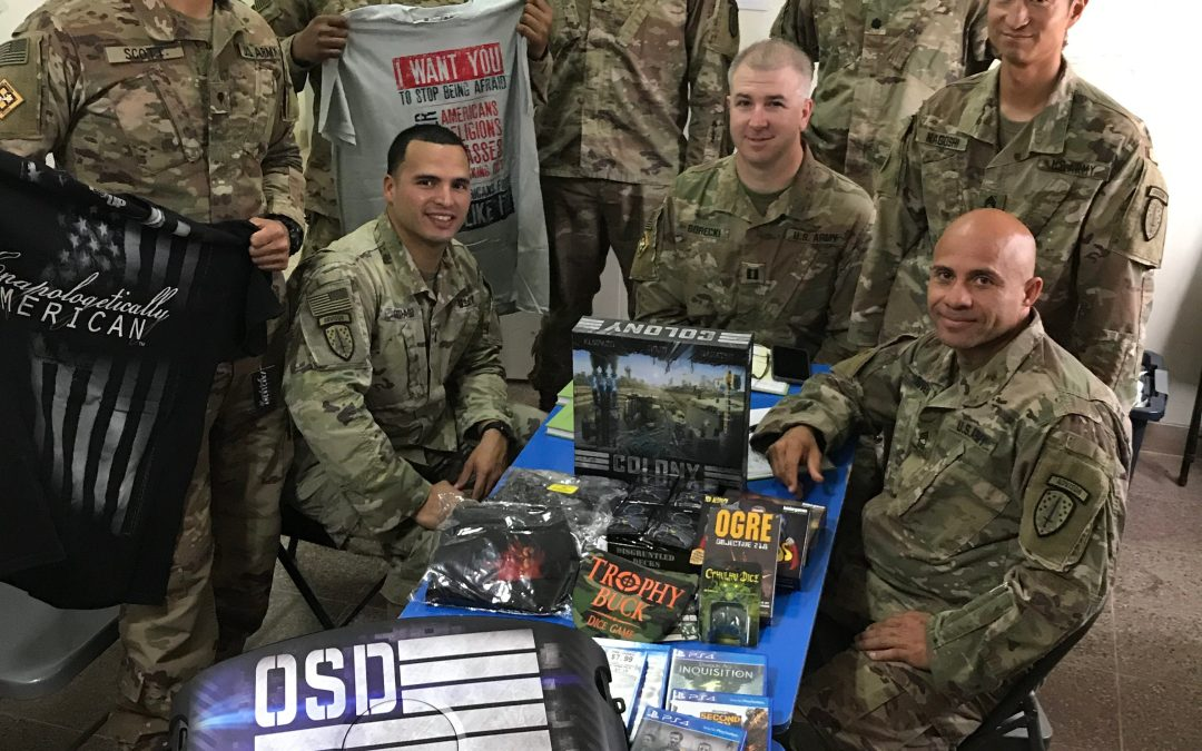 Isolated Troops in Afghanistan Upgrade Small Camp with 'Supply Drop' from OSD