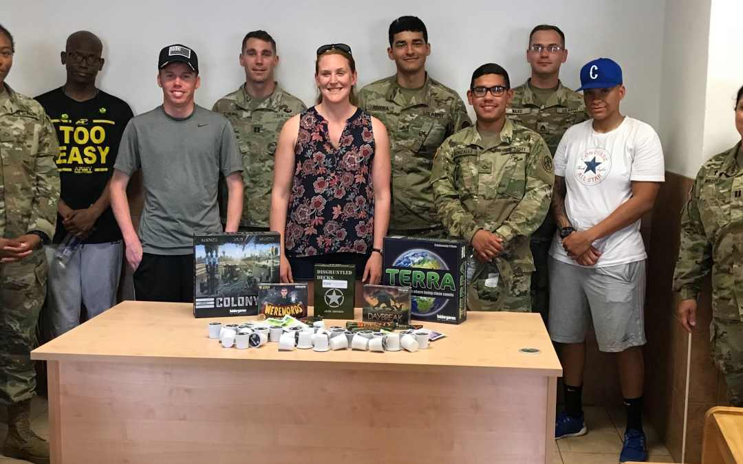 Over 1,500 US Army Soldiers Based in Italy Now Hooked on Coffee and Board Games See Uptick in Morale