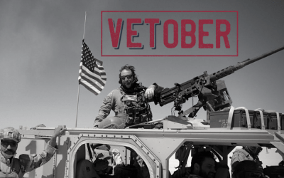 "3RD Annual VETOBER™: ""One Day is Not Enough™"" Campaign Returns for 2018 Impacting Veterans Around the United States"