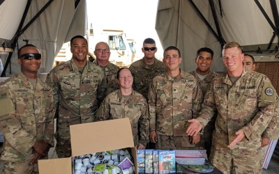 Fort Hood Soldiers Deployed to Afghanistan Receive Morale Boost in the Form of an OSD 'Supply Drop'