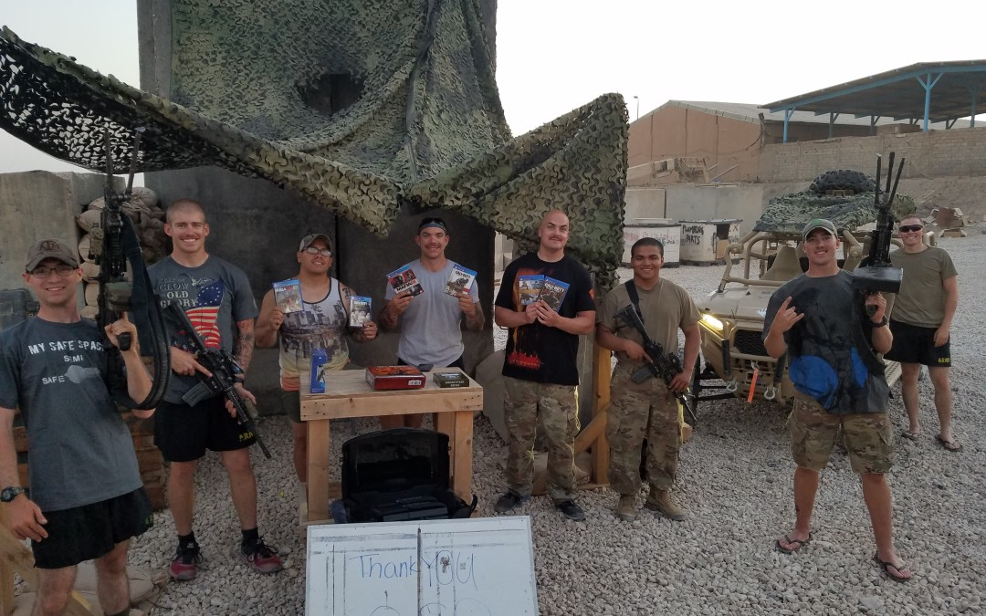 Fort Hood Soldiers Deployed to Remote Area of Iraq Get Morale Boost from OSD Supply Drop