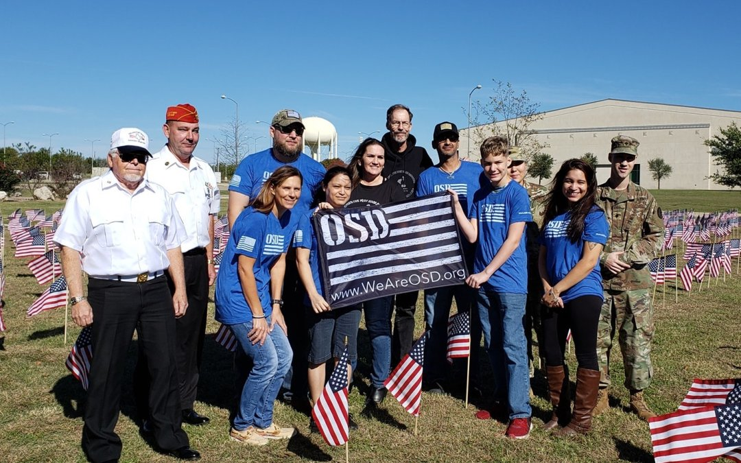OSD Fort Hood Honors Veterans at Flag Placement Ceremony