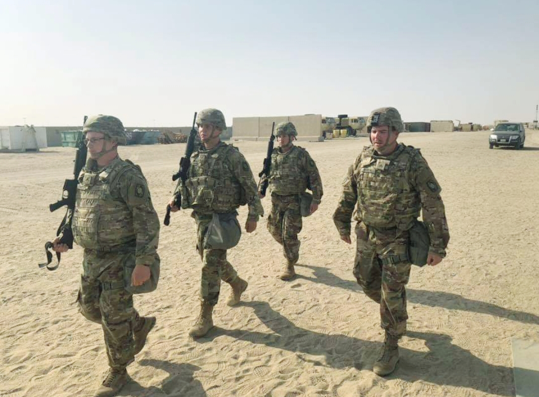 Fort Hood Soldiers Deployed to Kuwait Get a Needed Morale