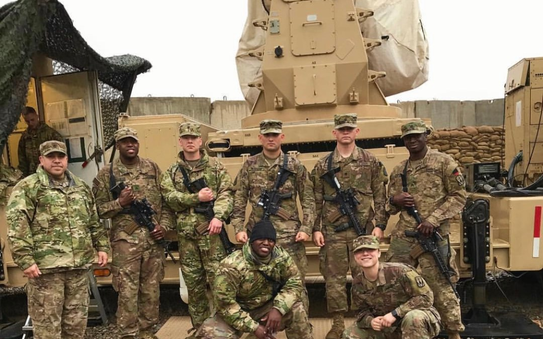 Soldiers from the 5th Air Defense Artillery in Need of Morale Boost Get OSD Supply Drop