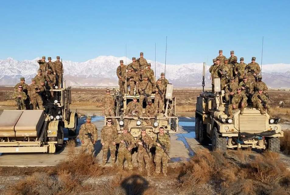 27th Engineer Battalion Deployed from Fort Bragg Gets Morale Boost from OSD Supply Drop
