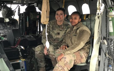 719th MDVS Deployed to Kuwait Get Morale Boost from OSD Supply Drop
