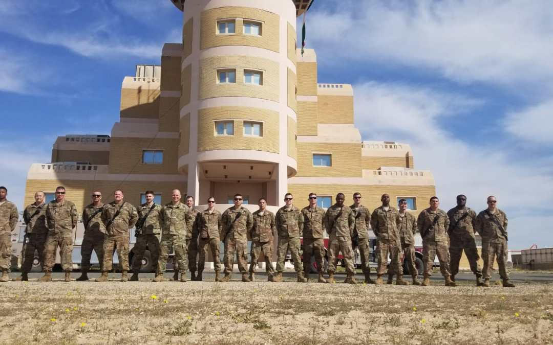 Airmen Deployed from Dover Air Force Base Get Morale Boost from OSD Supply Drop Delivery
