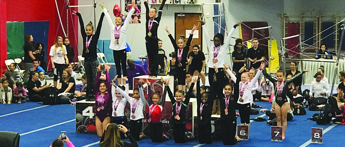 Flipping for Gymnastics  Young Prosper athlete wins big at State Meet