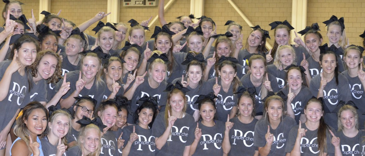 Prosper Cheer at UCA Camp
