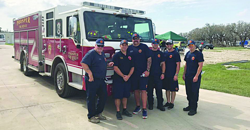 Prosper has First Responders Working in the Aftermath of Hurricane Harvey