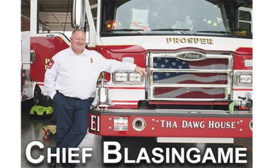 Prosper Gets New Fire Chief, Tucker retired August 31st