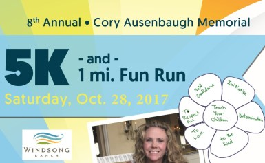 8th Annual Cory Ausenbaugh Memorial 5K and 1 Mile Fun Run