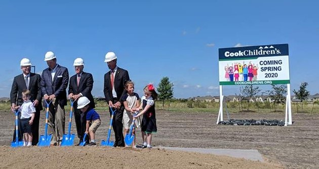 Cook Children's Hospital Breaks Ground In Prosper, Texas