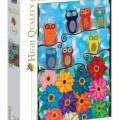 Concours Puzzle 2017 - Durbuy Barvaux - Clementoni -1- 500 pièces – Cute Little Owls