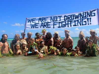 Climate Warriors - Not drowing Fighting