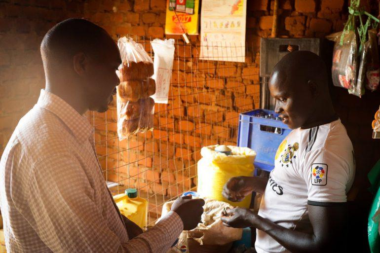 Bosco in his shop
