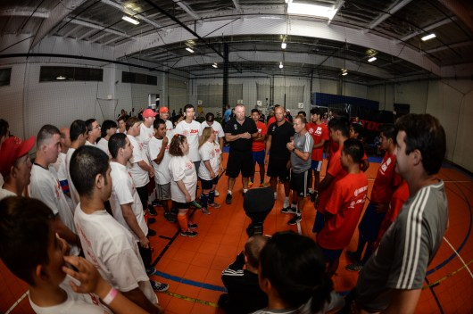 Special Olympics Southern California soccer clinic with Manchester United and AON - Torrance, CA - July 14, 2017