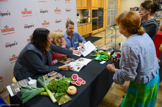 CUISINE del Sol Cookbook preview featuring Pier del Sol recipes at Melissa's Produce Test Kitchen Aufg, 29, 2017