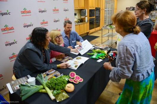 CUISINE del Sol Cookbook preview featuring Pier del Sol recipes at Melissa's Produce Test Kitchen Aufg, 29, 2017