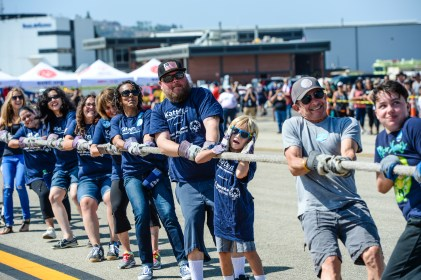 2017 LETR Special Olympics Southern California Plane Pull - Long Beach Airport - Aug. 19, 2017