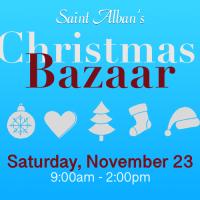 2019 Christmas Bazaar - Nov. 23, 9am - 2pm