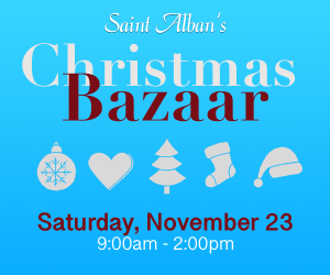 2019 Christmas Bazaar - Nov. 23, 9am - 2pm