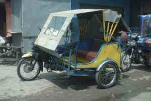 Becak transport