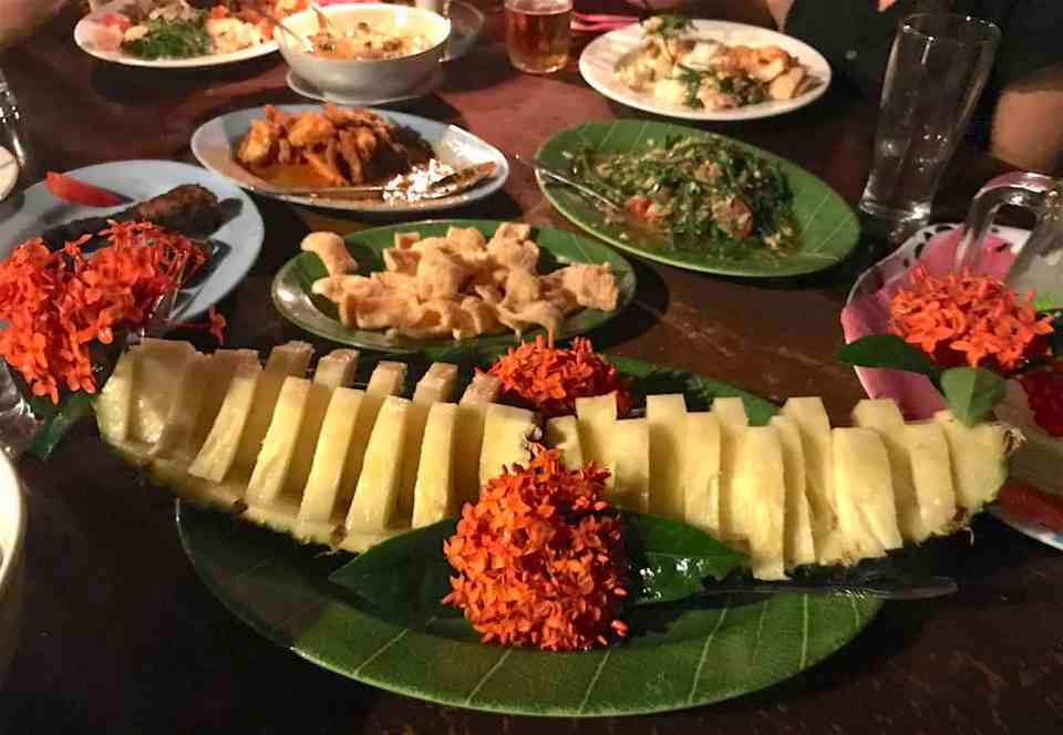 The food is one of the best parts of travel in Sumatra