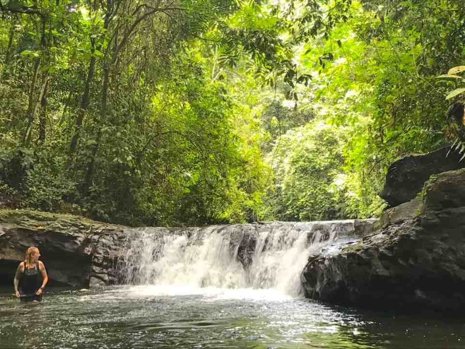 Travel Sumatra to see incredible waterfalls in the jungle