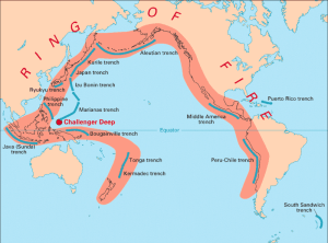 Sumatra is part of the ring of fire