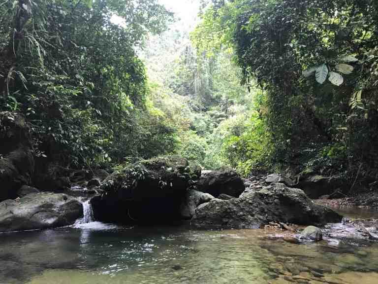 Batu Katak Waterfall