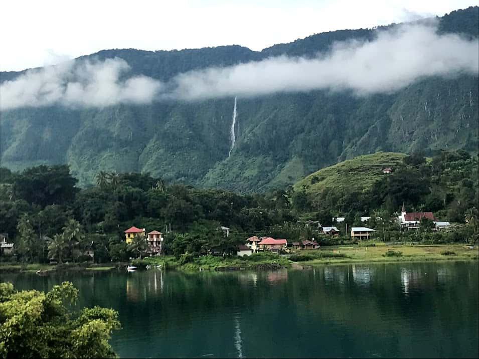 Simangande Waterfall Lake Toba
