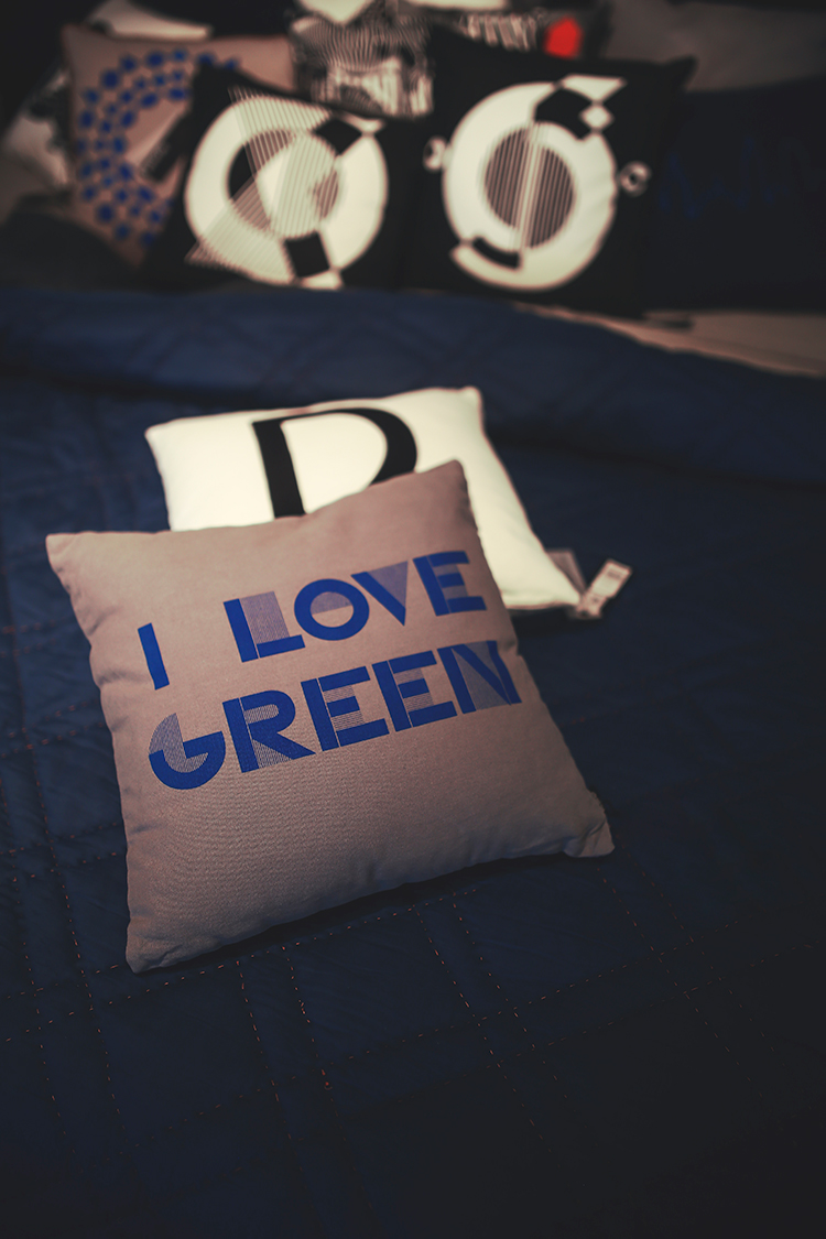 I love green cushion - Guide to writing a digital brief Switch